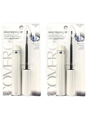 b5ce58e7c7f Amazon.com : Set of 2 CoverGirl Exact Eyelights Black Sapphire 710 0.24 Oz  Eye Brightening Mascara : Beauty