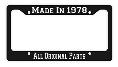 ThisWear 40th Birthday Gifts Made 1978 All Original Parts Funny Men Novelty License