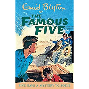Five-Have-A-Mystery-To-Solve-Book-20-Famous-Five-Paperback--Illustrated-23-April-1997