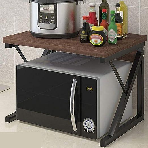 Microondas Caja Cocina Estante de la Especia Estante Microondas ...