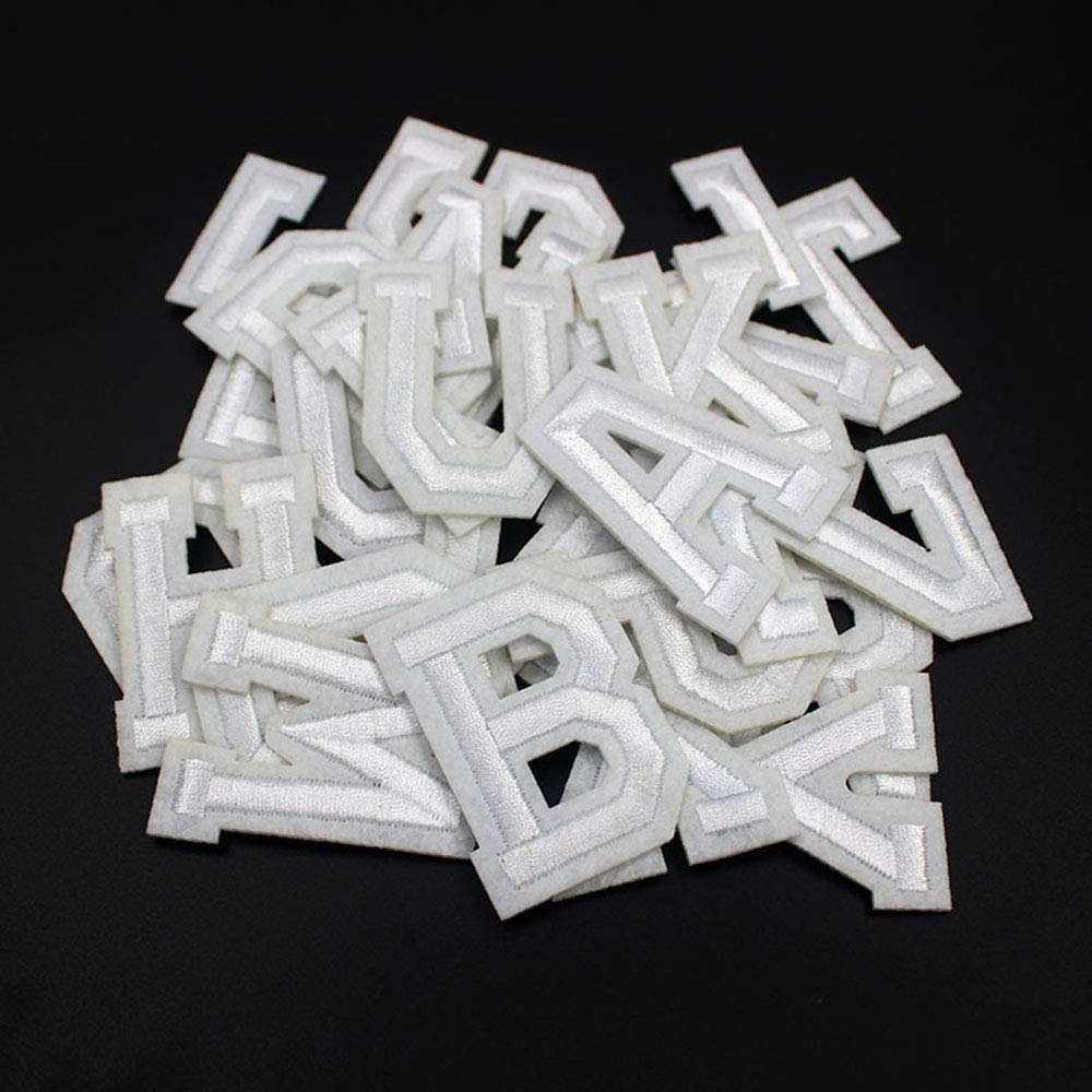 Amazon.com: Parches para planchar con letras con parches ...