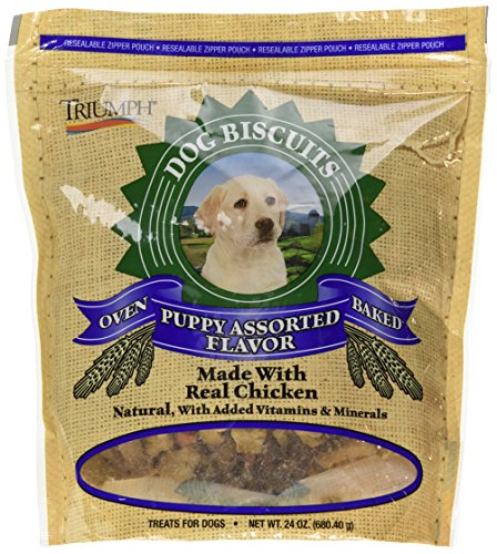 (Triumph Assorted Puppy Biscuits, 24 Oz.)