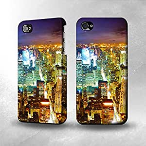 Apple iPhone 4 / 4S Case - The Best 3D Full Wrap iPhone Case - Night City