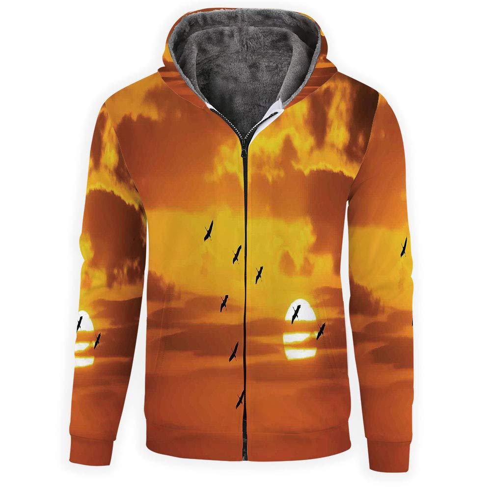 Style 09 iPrint Hoodie Zipper Unisex 3D Hoodies Sweatshirts Birds