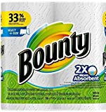 Bounty Select-a-Size 2 x More Absorbent Paper Towels,11 x 6-Inches, 96-PLY SHEETS,White (PACK OF 2)