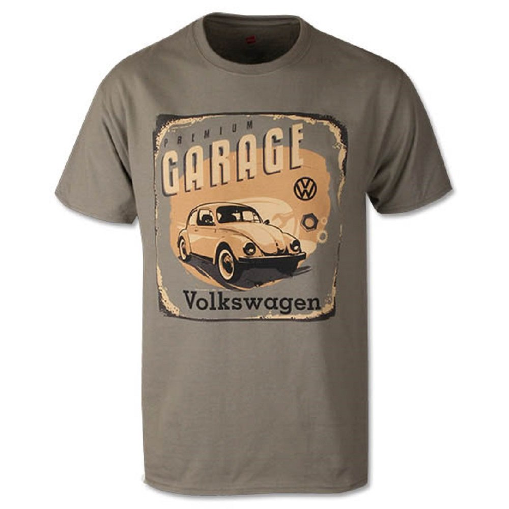 値引 VW Volkswagen BugプレミアムガレージTシャツグリーン S S グリーン グリーン DRG013603 S Volkswagen B0761ZCVKG, ムース:47d6aac4 --- narvafouette.eu