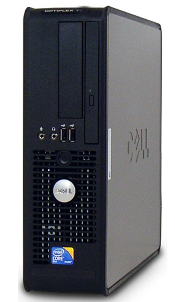Dell Optiplex Business Computer, Intel Dual Core 2 Duo 1.86GHz Processor, 4GB DDR2 RAM, 160GB HDD, DVD, Gigabit Ethernet, Windows 10(Certified Refurbished)