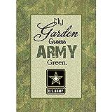 Turner 1701200 US Army Green Garden Flag, Mini
