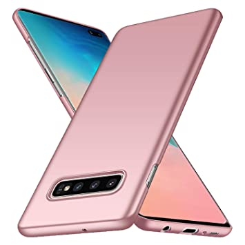 deconext Funda Samsung S10 Plus,S10+ Carcasa Ultra Slim Anti-Rasguño y Resistente Huellas Dactilares Protectora Caso de Duro Cover Case para Samsung ...