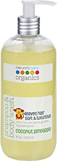 product image for Shampoo and Body Wash, Coconut Pineapple 16 oz by Nature's Baby Organics (Pack of 2)