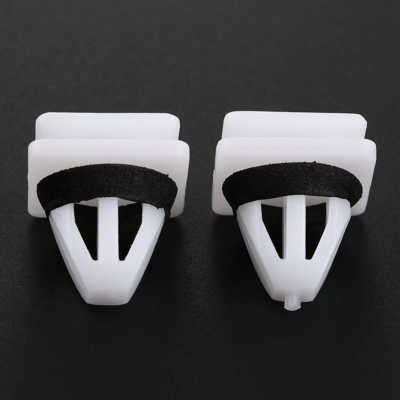 20x Clips For Honda Civic CRV Side Skirt Sill Guard Moulding Rocker Cover Trim
