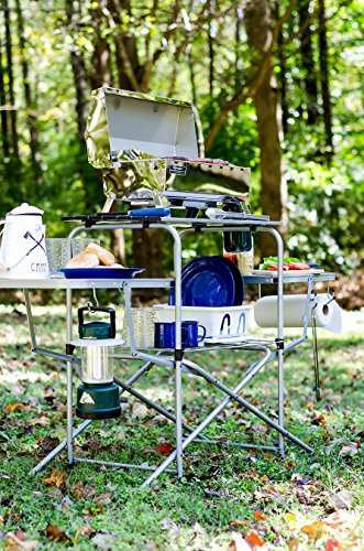 Camco-Deluxe-Folding-Grill-Table-Great-for-Picnics-Tailgating-Camping-RVing-and-Backyards-Quick-Set-up-and-Folds-Down-to-Only-6-Inches-Tall-For-Convenient-Storage-57293
