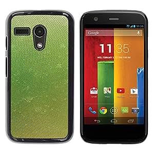 Be Good Phone Accessory // Dura Cáscara cubierta Protectora Caso Carcasa Funda de Protección para Motorola Moto G 1 1ST Gen I X1032 // Dew Mist Summer Spring Nature
