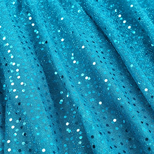 Asymtrique Jupe Clair Femme Ballet Jupe iEFiEL Yoga Polka de Couleurs Bleu Danse de Performance pour Jupe Dots Latin Et Sport Jupe Femme 7 xCBwqXfSwO