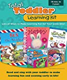 Total Toddler Learning Kit, Carson-Dellosa Publishing Staff, 0769653332