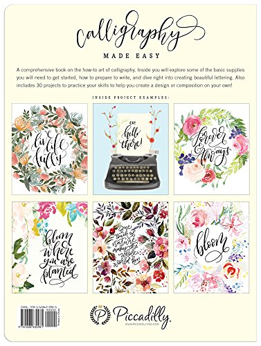 Top 8 calligraphy made easy book – piccadilly