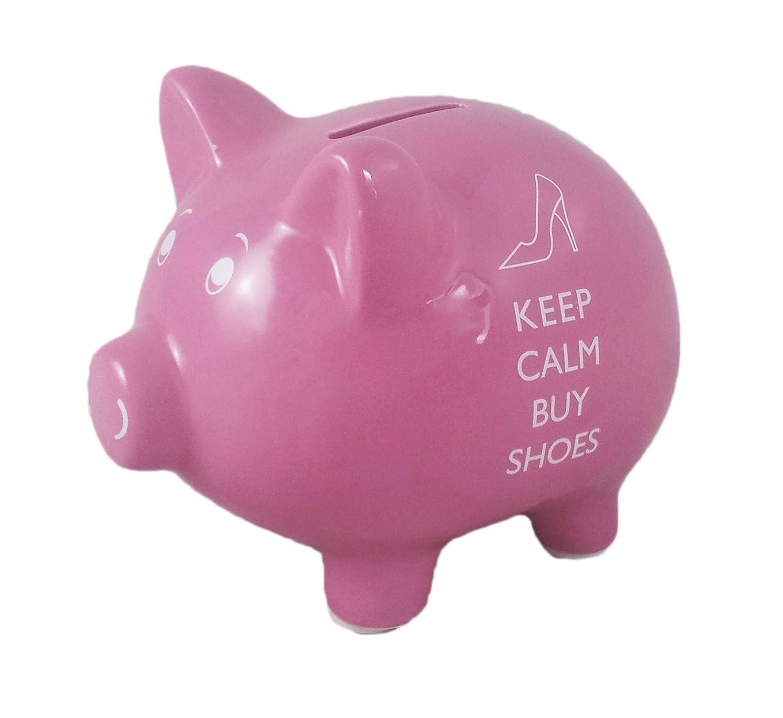 Keep Calm Buy Shoes salvadanaio/salvadanaio Lesser & Pavey LP20910