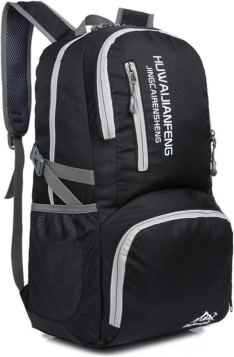 Outdoor Sports Backpack Travel Daypack Nylon Waterproof Lightweight Folding Bag