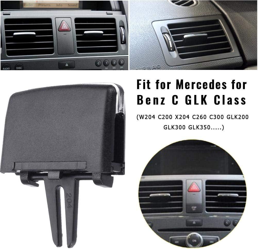 para Mercedes Benz W204 C260 C300 GLK200 GLK300 GL Series Adminitto88 Clip De Pl/ástico De La Leng/üeta del Tomacorriente Ventilaci/ón Kit Reparaci/ón De Paletas Aire del Aire Acondicionado Delantero