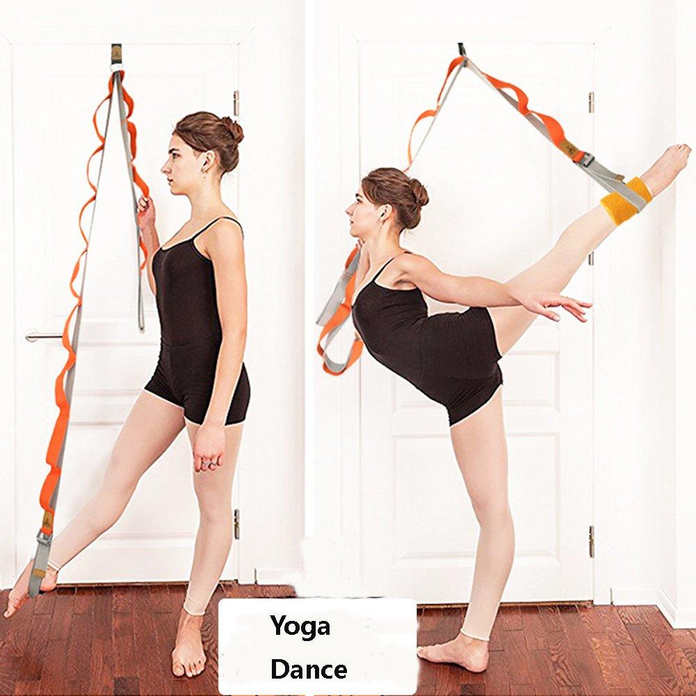 ynxing pierna estiramiento correa puerta flexibilidad Trainer Ballet el/ástico banda puede aumenta la pierna//cadera flexibilidad puede utilizarse para ballet//Yoga//Fitness
