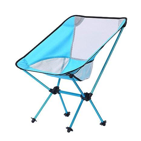 Silla De Camping Plegable Portátil Al Aire Libre Silla De ...