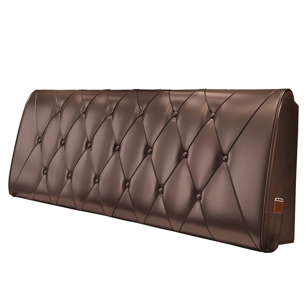 LIANGLIANG クッションベッドの背もたれ 特大のダブルの人々はベッドサイドボードを持って通気性耐久性、5サイズ10色 (色 : チョコレート色, サイズ さいず : 200x60x10cm) B07FRFTPG4 200x60x10cm|チョコレート色 チョコレート色 200x60x10cm