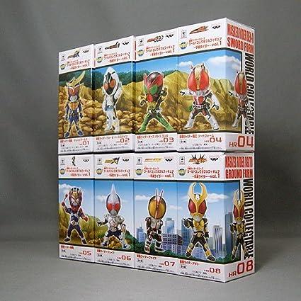 Kamen Rider Series World Collectable Figure Heisei Rider vol.2 all 8 set