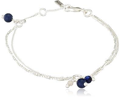 Pilgrim Women Silver Plated Strand Bracelet - 201746202 Vt1xH
