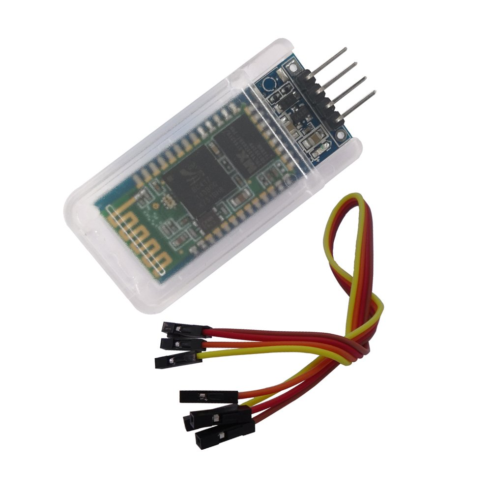 DSD TECH HC-06 Wireless Bluetooth Serial Transceiver Support Module Slave and Master Mode For Arduino + 4PIN DuPont Cable sh-hc-06