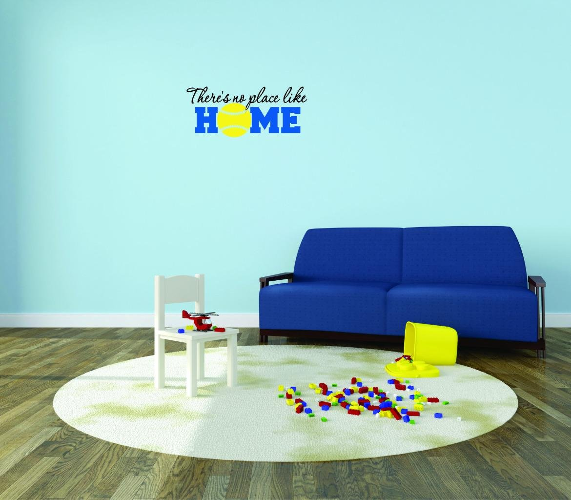 Theres No Place Like Home Color As Seen Size 12 Inches x 12 Inches Design with Vinyl Moti 2696 1 Decal Peel /& Stick Wall Sticker