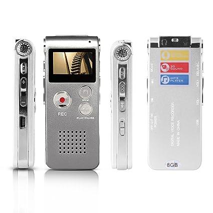 amazon com btopllc digital voice recorder 8gb mp3 player mini usb rh amazon com Sony ICD-PX333 Digital Voice Recorder Sony IC Recorder PX312 Manual