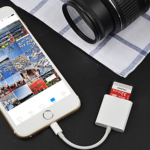 SD Card Reader for iPhone iPad and Android Lightning to Trail and Game Camera Viewer - App Not Required by TOBENONE (Image #5)