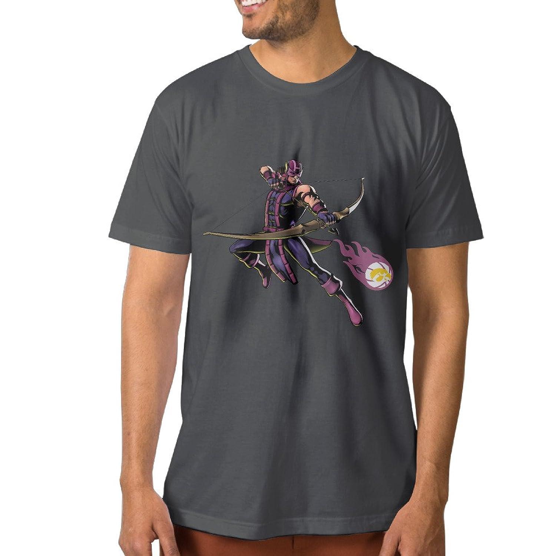 PKTWO Men's University Of Iowa Hawkeye Fashion T Shirt DeepHeather