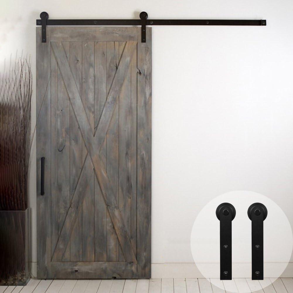 WINSOON Kit de puerta corredera para armario de ventana, soporte de TV, ganchos en forma de I: Amazon.es: Bricolaje y herramientas