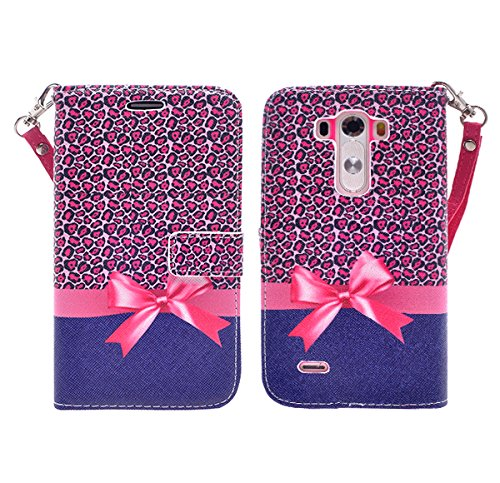 LG G3 Vigor case, LG G3 Vigor / LG G3 Mini / LG G3s Case, Defender Bling Hybrid Gel Protector Diamond Hybrid (CHEETAH)