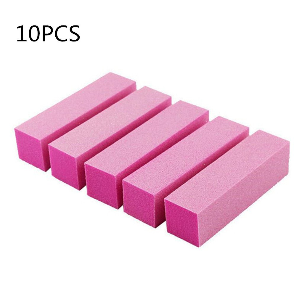 5pcs nail Art Shiner Buffer 4 Ways Polish Sanding File Block Manicure Product Yancy Leigh