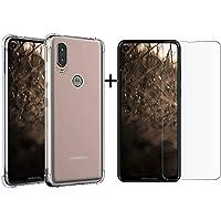 Capa Antishock + Pelicula Gel para Motorola MOTO ONE VISION
