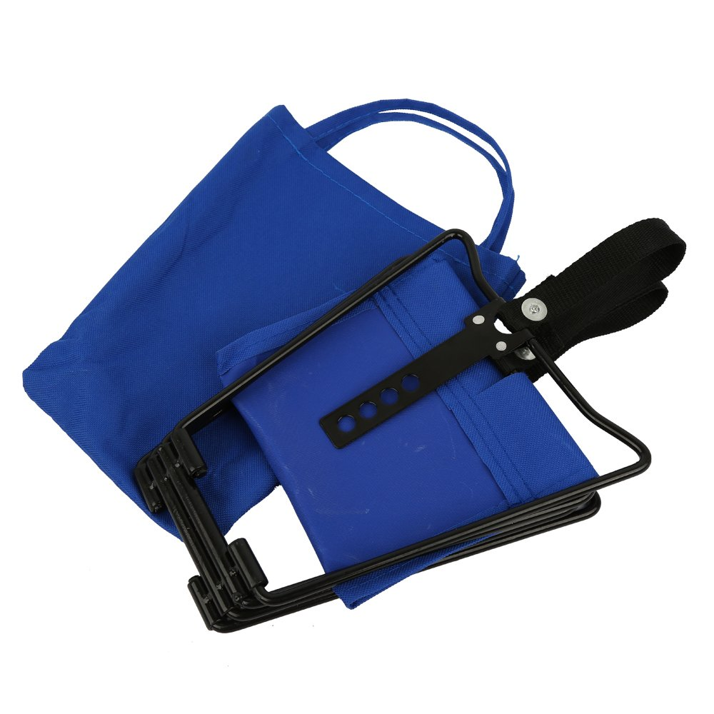 Yongkang HuoLuoLi Trade Co Folding Camp Stool Boloni Portable Fishing Stool Folding Hiking Travel Outdoor Stool Ltd Blue