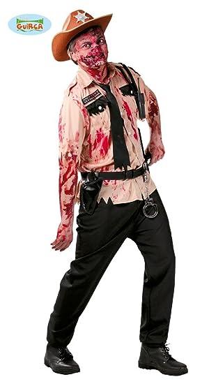 Disfraz de policía zombie: Amazon.es: Juguetes y juegos