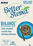 NOW Foods Stevia Balance,100 Packets For Sale