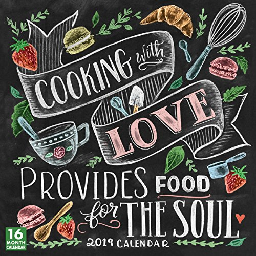 2019 Cooking with Love Provides Food for the Soul 16-Month Wall Calendar: by Sellers Publishing, 12