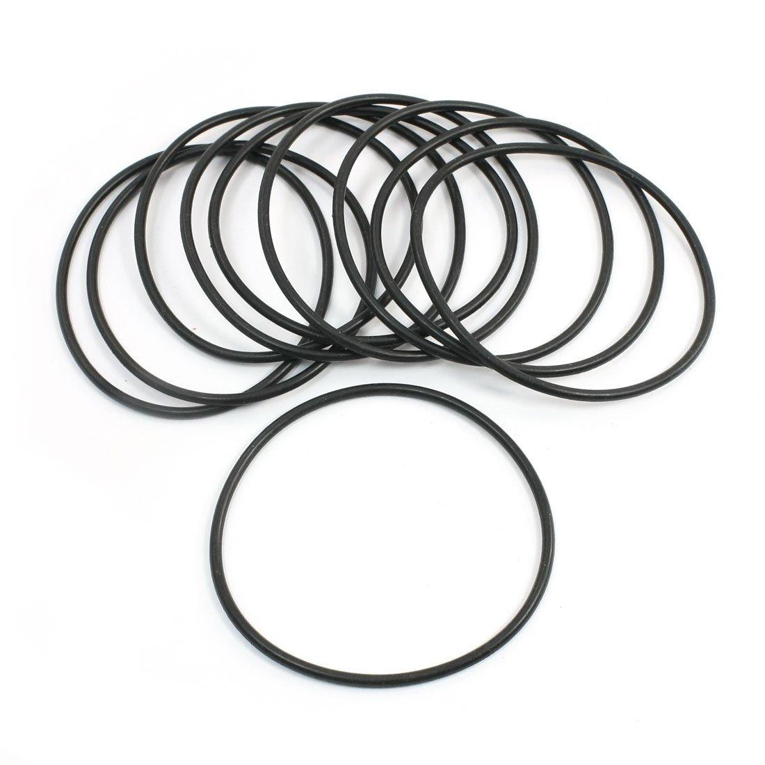 10pcs Noir m/écanique Joints toriques rondelles d/étanch/éit/é dhuile 92mm x 85 mm x 3,5 mm