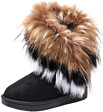 Warm Fur Winter Boots for Women