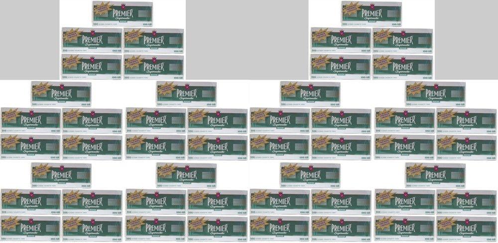 Premier Supermatic Menthol King Size Cigarette Filter Tubes (50)