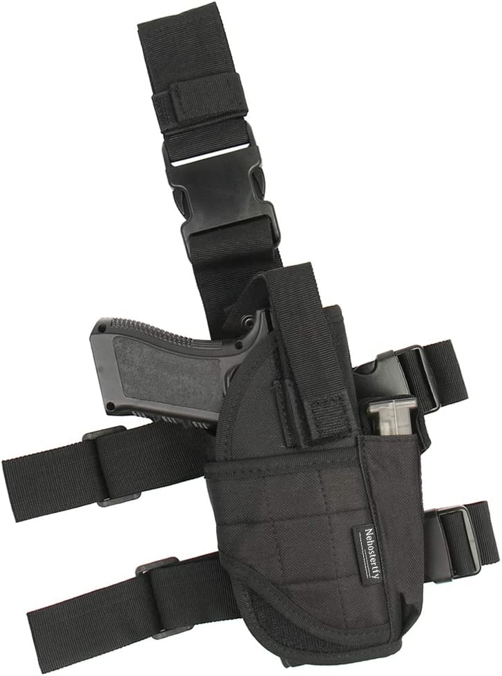 Drop Leg Right-handed Tactical Thigh Holster
