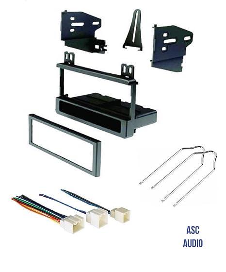 amazon com asc audio car stereo dash kit wire harness and radio rh amazon com
