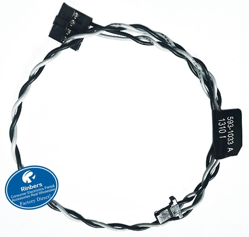"Rinbers Hard Drive Temp Temperature Sensor Cable for Apple iMac 27"" - 922-9224, 593-1033 - Seagate"