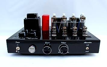Amplificador a válvulas Vegas PL36 Push Pull 2 x 28 W (clase AB) entradas: línea/4-8ohm salida:: Amazon.es: Electrónica