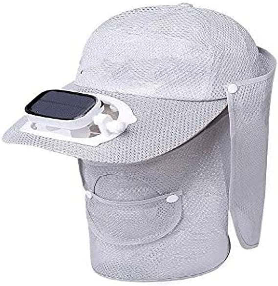 SYXZ Gorras solares con Ventilador de enfriamiento Sombrero de ...