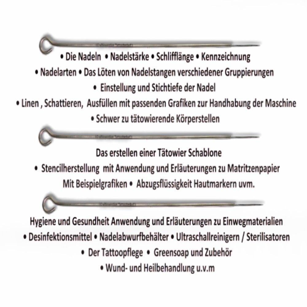 Tattoo Anleitung Tätowieren Lernen Von A Z Tattooanleitung Das